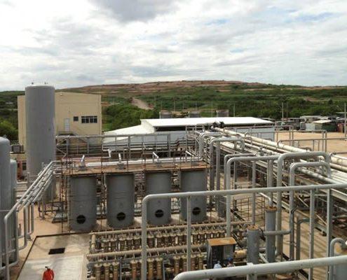 Biogas Plant at Novo Gramacho