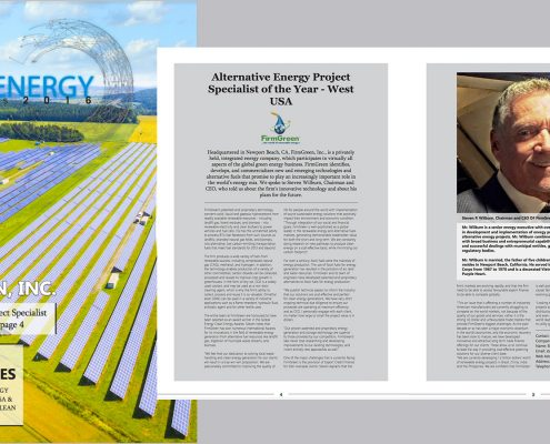 FirmGreen recognized by Global Energy Award